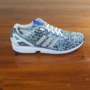 Adidas orginals ZX Flux Weave Blue Technicolor
